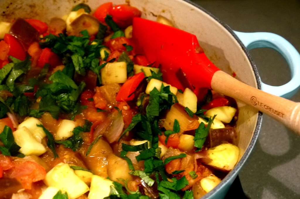 Classic French country cuisine – Ratatouille