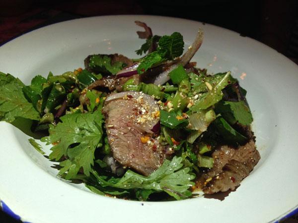 #chachawan wagyu beef salad