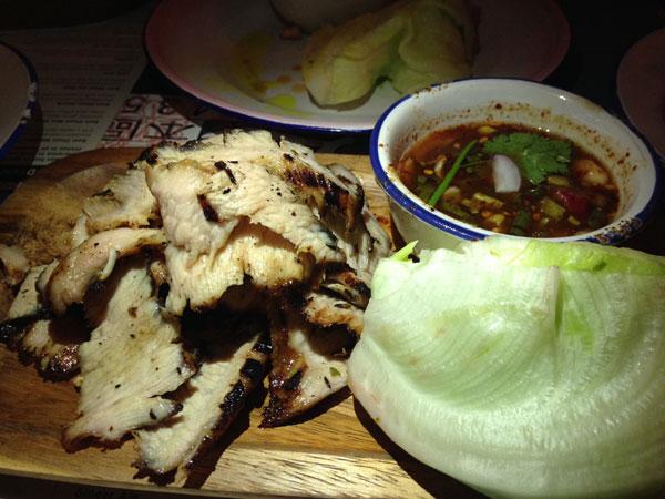 #chachawan grilled pork