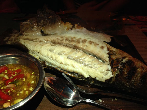 #chachawan sea bass