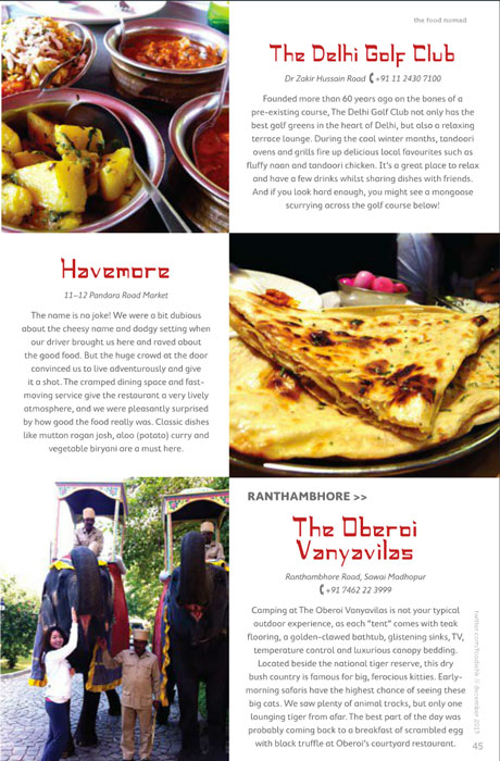 The Food Nomad India