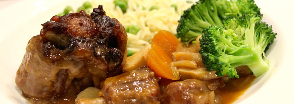 How To Make – Slow-Braised Oxtail with Hearty Vegetables & Buttery Orzo