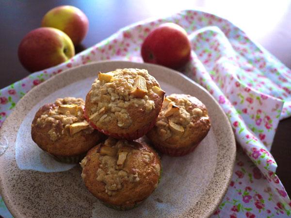 #apple #crumble #muffin