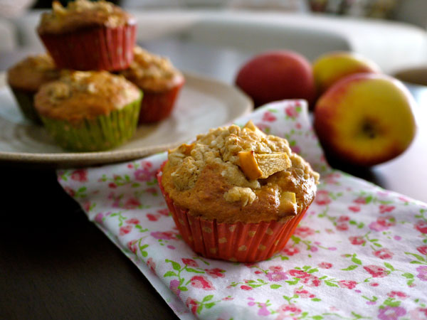#applecrumble #muffin