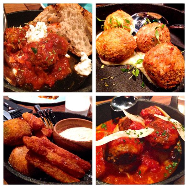 NOM meatballs Hong Kong