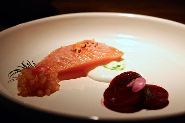 #NURhongkong #salmon #beet