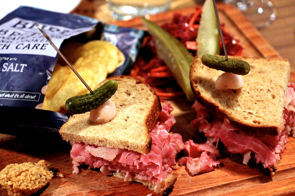 butchers club corned beef sandwich