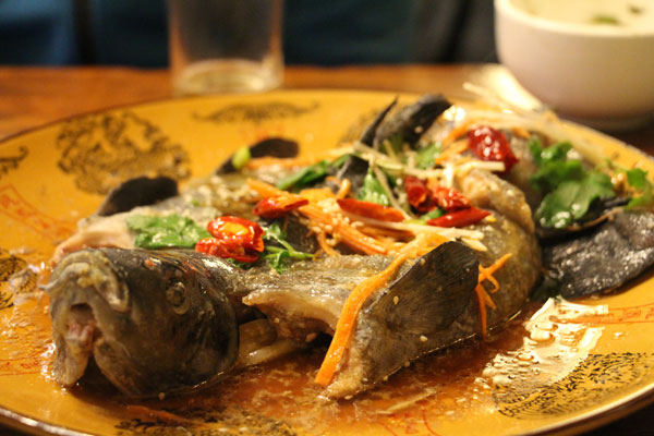 food nomad lijiang fish