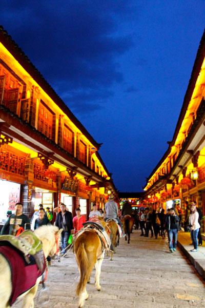 food nomad lijiang horse tea trail