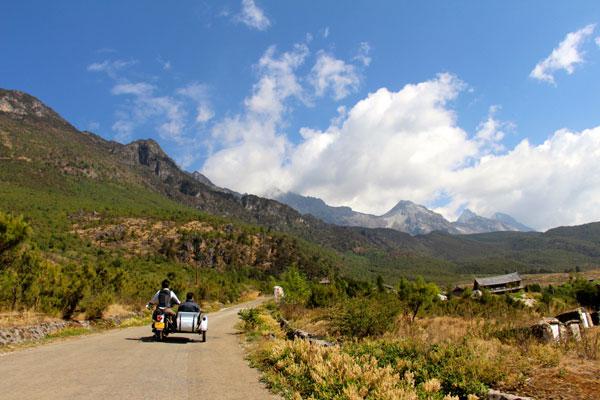 food nomad lijiang motorbike