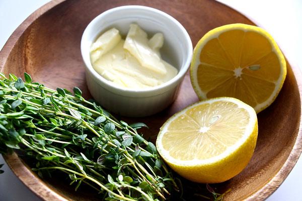 lemon thyme butter
