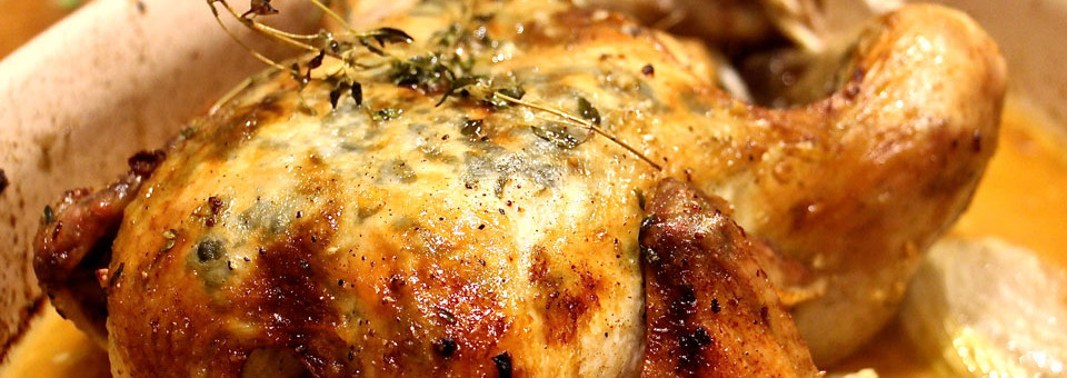 How to Make – Buttery Lemon & Thyme Roast Chicken