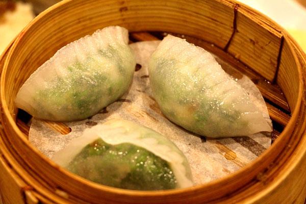 tim ho wan peashoot dumplings