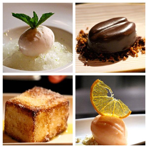 Zafran dessert