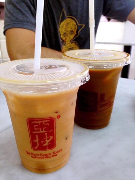Ya Kun kopi teh