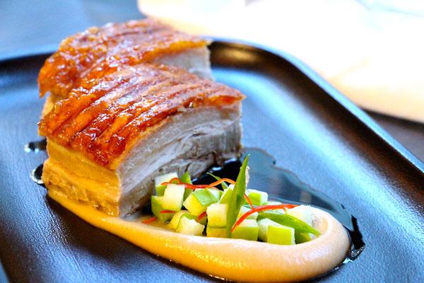 Bread Street Kitchen pork belly