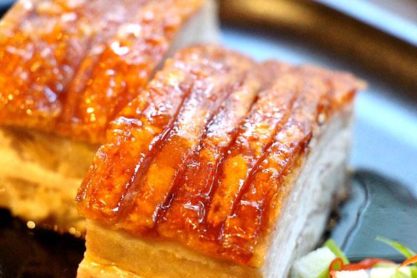 Bread Street Kitchen Hong Kong pork crackling