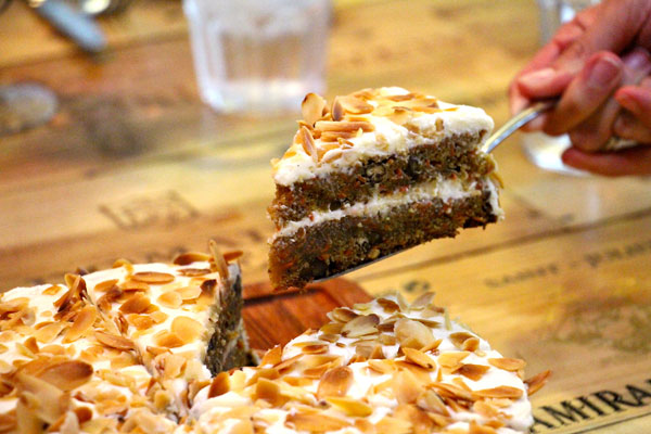 Butchers Club carrot cake