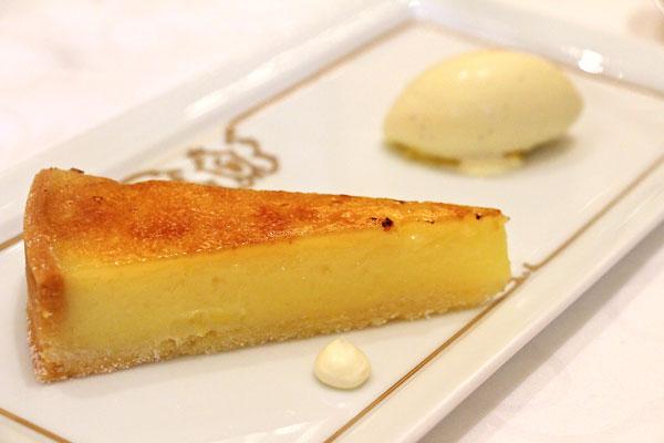Gaddi's Hong Kong lemon tart