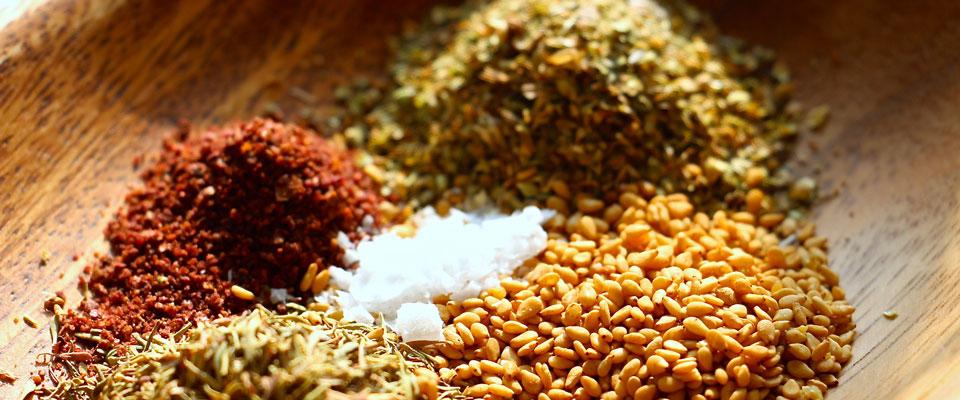 za'atar ingredients