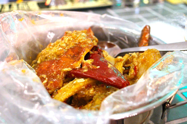 Mrs. Pound Hong Kong chili crab