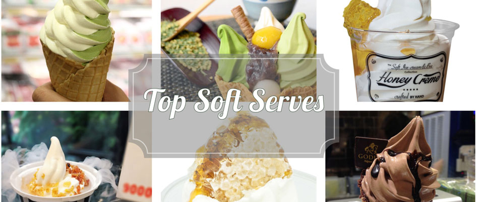 Top List soft serve ice cream Hong Kong