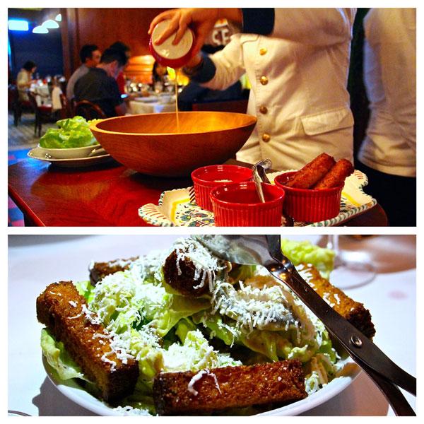 Carbone Italian Hong Kong Caesar salad
