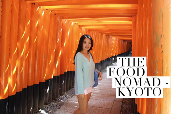 the food nomad celia hu Kyoto