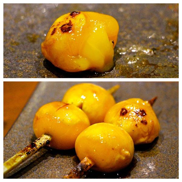 Toritama yakitori egg