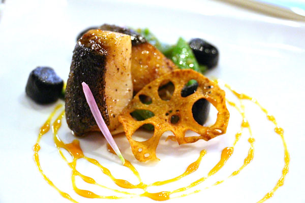 Quest restaurant Hong Kong black cod