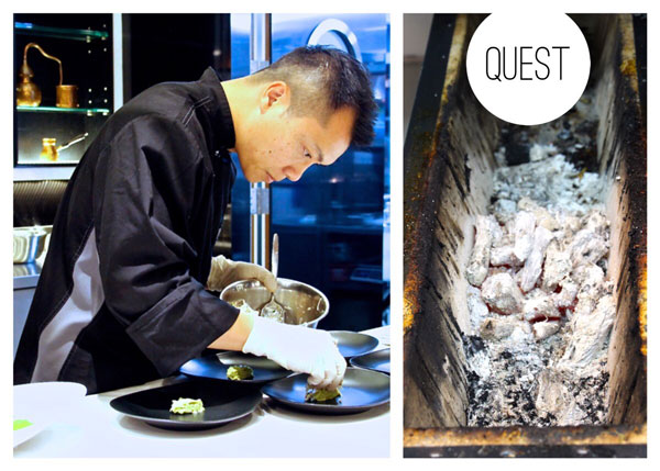 Quest restaurant Hong Kong Chef Que Vinh Dang