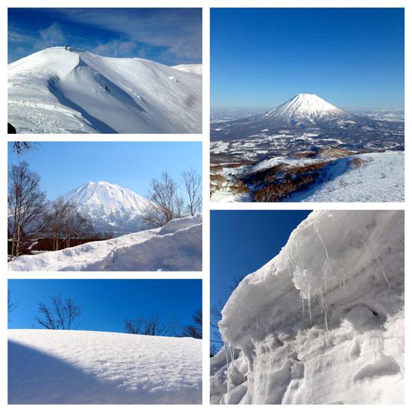 Niseko snowboard ski winter