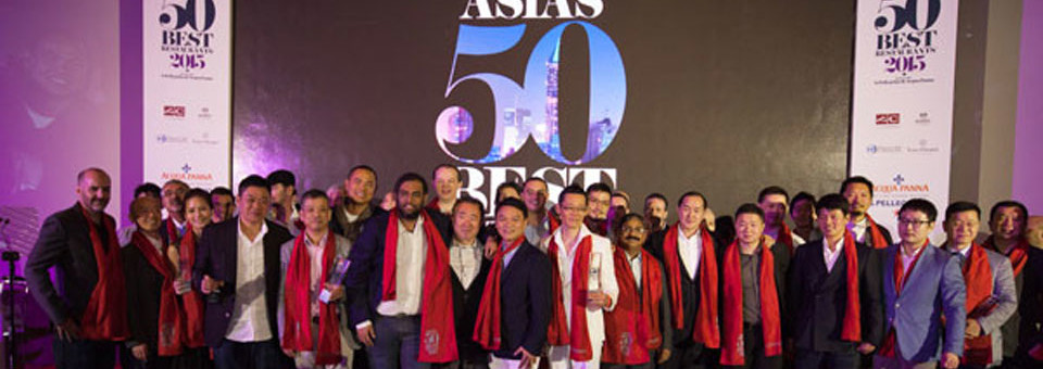 Asia's 50 Best Restaurant 2015 unveils in Singapore