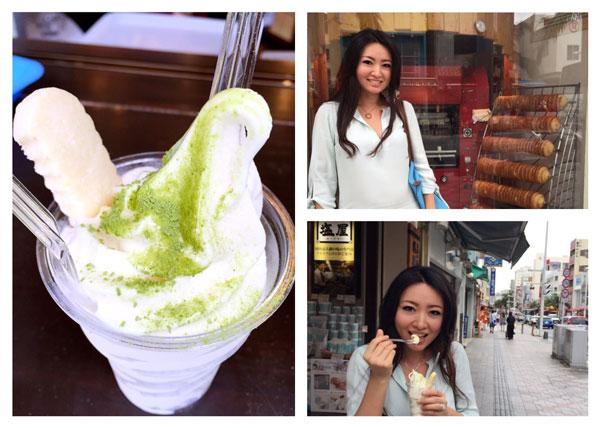 Okinawa The Food Nomad salt ice cream