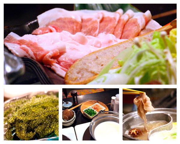 Okinawa Tsukinohama shabu shabu