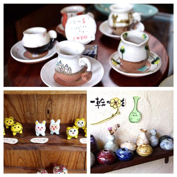 Okinawa travel food guide Tsuboya pottery street