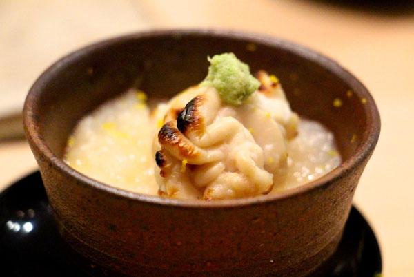 Sushi Shikon Hong Kong cod shirako