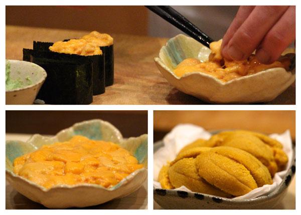 Sushi Shikon Hong Kong uni urchin