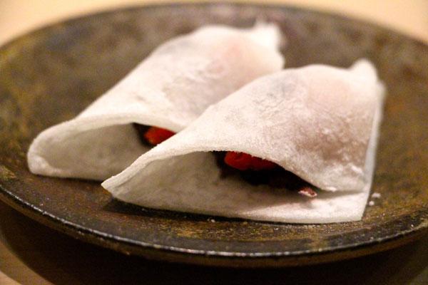 Sushi Shikon Hong Kong dessert