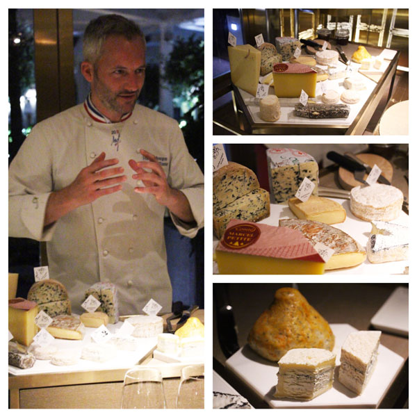 Epure cheese master Francois Bourgon