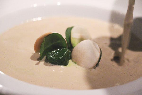 Epure mushroom soup