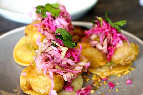Limewood fish taco Hong Kong