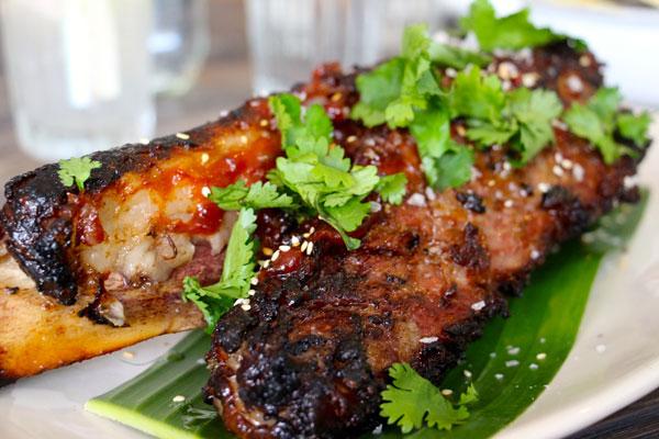 Limewood beef short rib Hong Kong