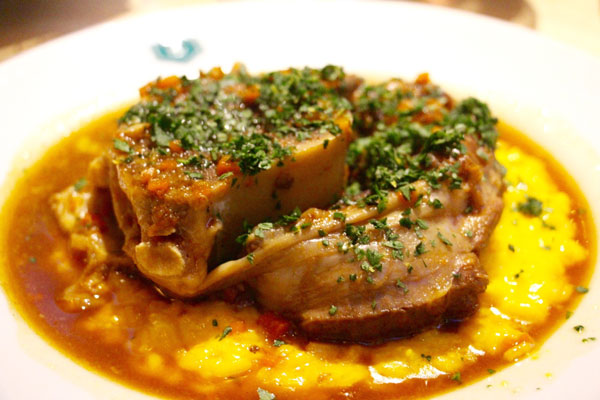 The Continental Hong Kong osso buco