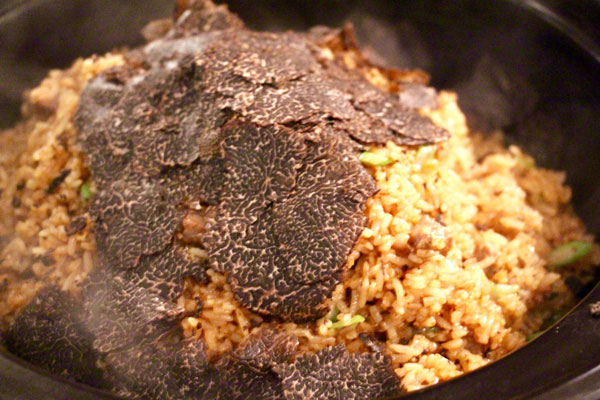 China Tang Hong Kong truffle wagyu rice