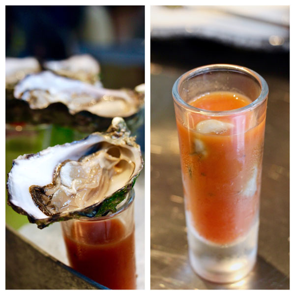 The Walrus oyster bar Hong Kong oyster shooter