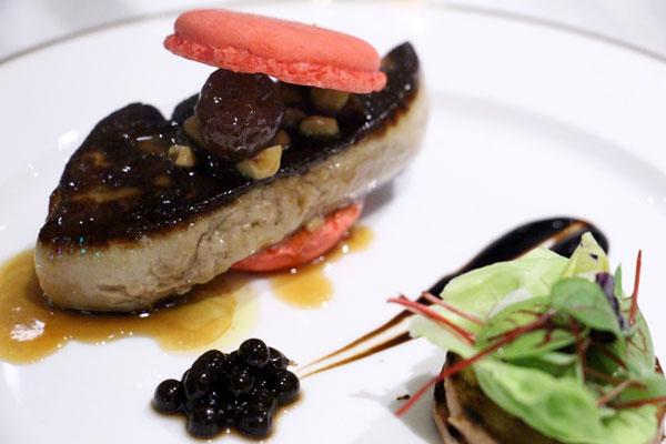 Foxglove foie gras Hong Kong