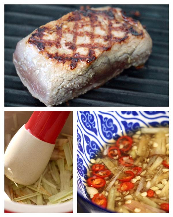 How to make Bun Bo Sao Vietnamese lemongrass beef cold noodle salad recipe