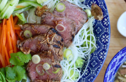 How to Make – Bun Bo Sao Vietnamese Lemongrass Beef Noodle