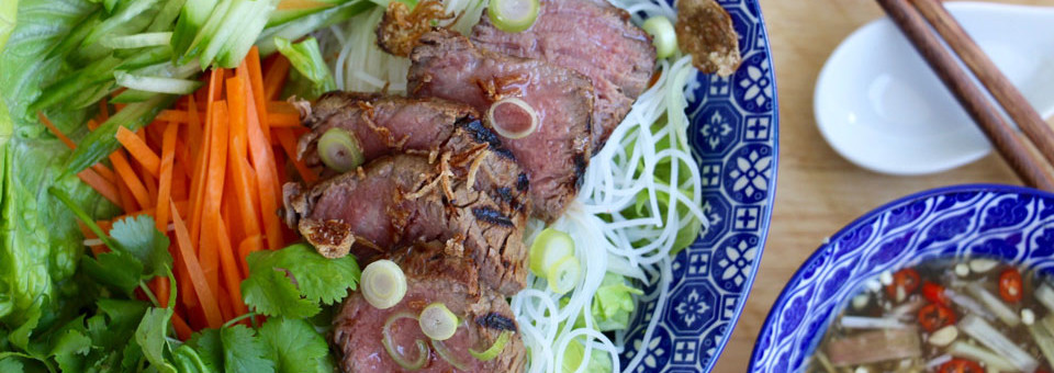 How to Make – Bun Bo Sao Vietnamese Lemongrass Beef Noodle
